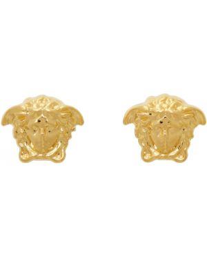 Kolczyki złoto ze złota Versace