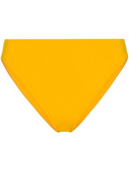 Желтые бикини с высокой посадкой эластичные Beth Richards