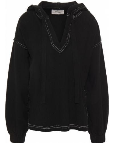 Черное худи с капюшоном с манжетами Ba&sh
