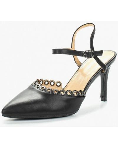 Кожаные туфли на каблуке Sergio Todzi