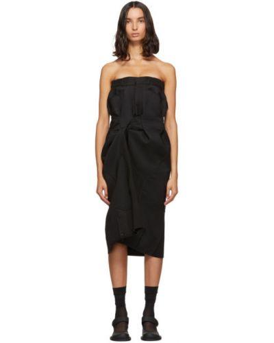 Платье с поясом на пуговицах на бретелях Maison Margiela