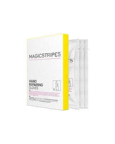Кожаные перчатки тонкие Magicstripes