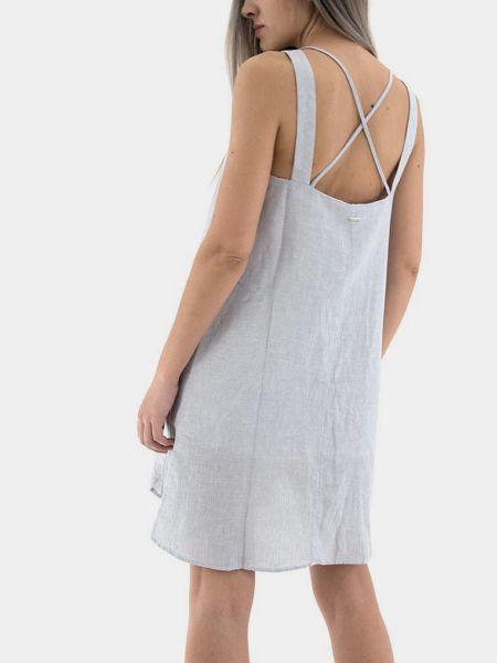 Платье рубашка - голубое Armani Exchange