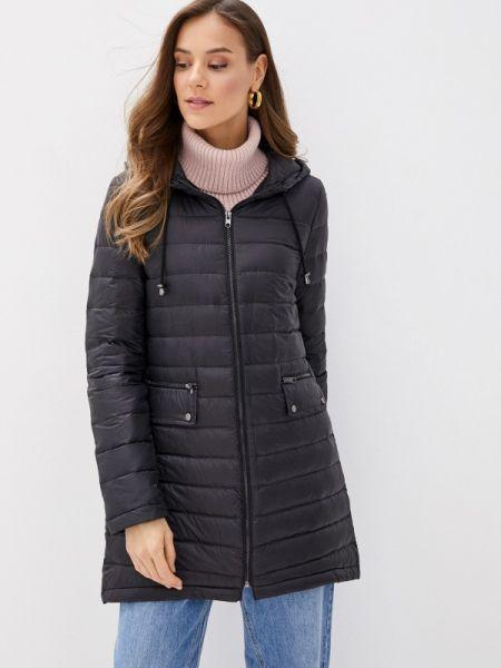 Теплая клубная черная утепленная куртка Concept Club