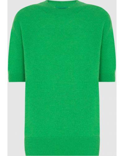 Зеленый кашемировый джемпер Ermanno Scervino