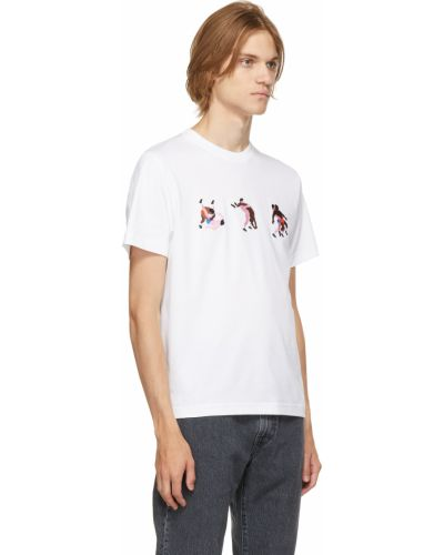 Biała t-shirt bawełniana Carne Bollente