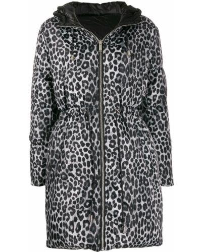 Черное пуховое пальто с капюшоном Michael Michael Kors