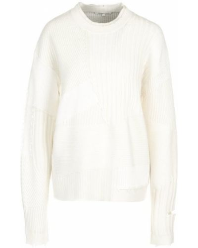 Вязаный свитер кашемировый шерстяной Helmut Lang