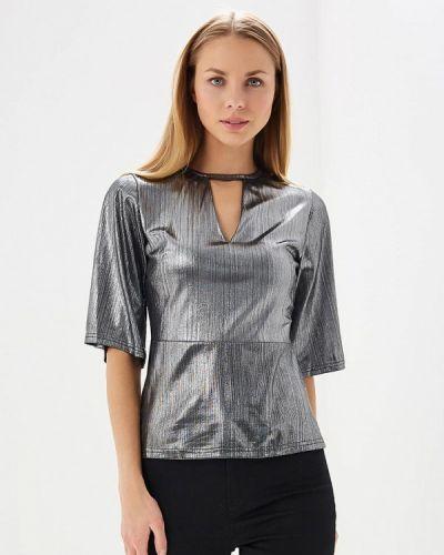 Блузка серебряного цвета Brigitte Bardot