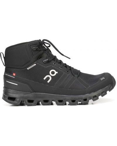 Ботинки на шнуровке - черные On Running