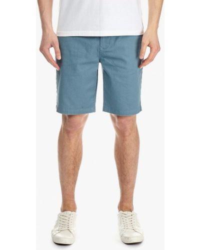 Голубые шорты повседневные Burton Menswear London