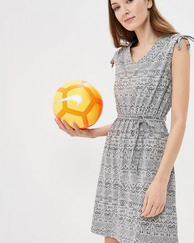 Платье весеннее серое Iwie
