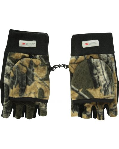 Zielone rękawiczki materiałowe Mountain Warehouse