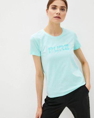 Бирюзовая спортивная футболка Anta