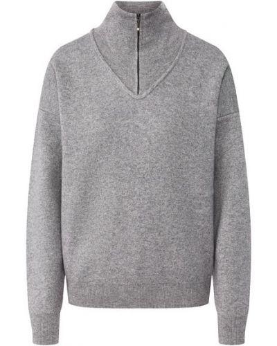 Кашемировый свитер - серый Not Shy