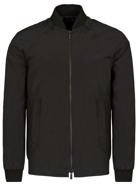 Куртка на молнии - черная Corneliani