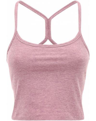 Укороченный топ - розовый Beyond Yoga