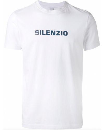 Biała t-shirt Aspesi