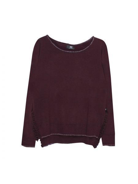 Тонкий с рукавами красный акриловый пуловер Le Temps Des Cerises