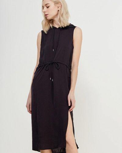 Черное платье прямое Noisy May