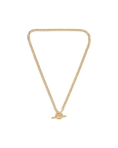 Ожерелье золотое металлическое позолоченное Shashi