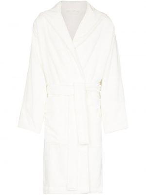 Biały szlafrok bawełniany Tekla
