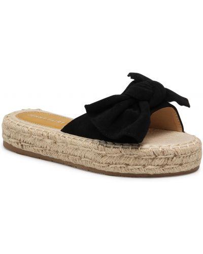 Sandały espadryle - czarne Jenny Fairy