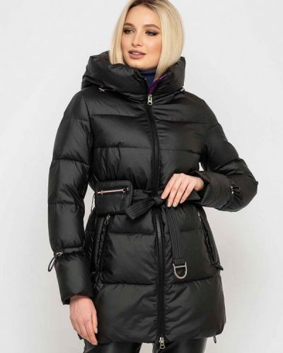 Утепленная куртка - черная Clasna