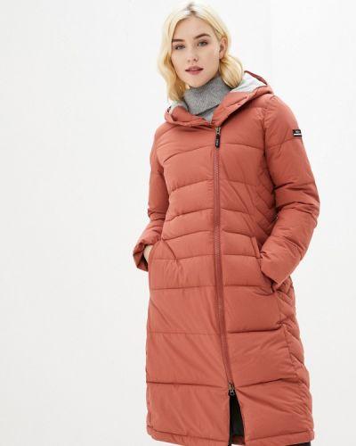 Утепленная коричневая куртка Roxy