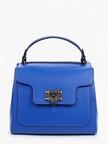 Кожаная сумка - синяя Pulicati