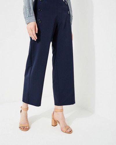 Синие брюки прямые Blugirl Folies