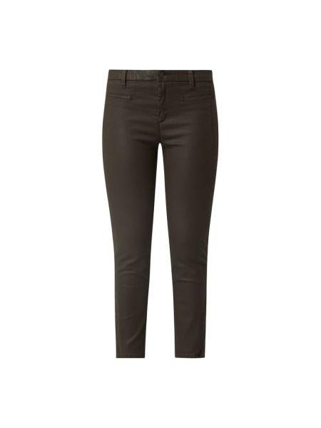 Brązowe spodnie bawełniane Rosner