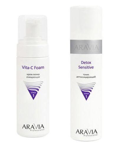 Тоник для лица для лица очищающий Aravia Professional
