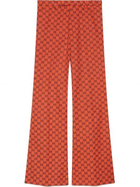 Bawełna bielizna spodni spodnie z paskiem Gucci