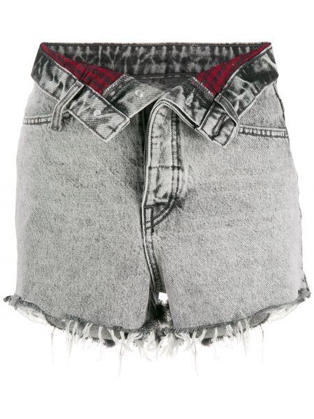 Джинсовые шорты с отворотами с карманами Alexander Wang