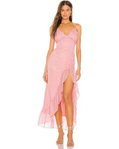 Платье макси винтажное - розовое Privacy Please