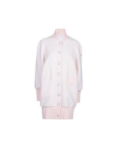 Розовое пальто весеннее Patrizia Pepe