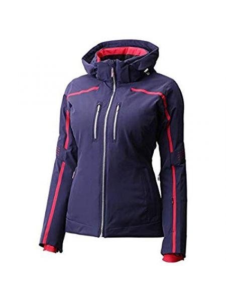 Куртка с капюшоном горнолыжная утепленная Descente