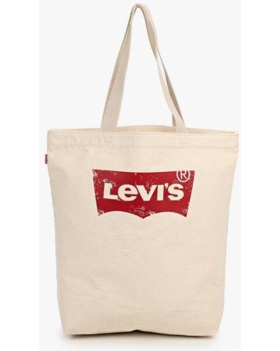Хлопковая сумка - бежевая Levi's®