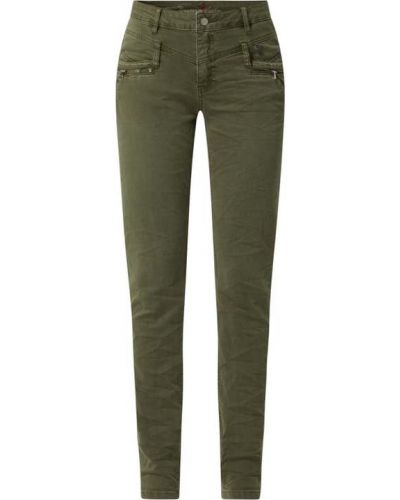 Zielone jeansy bawełniane Buena Vista