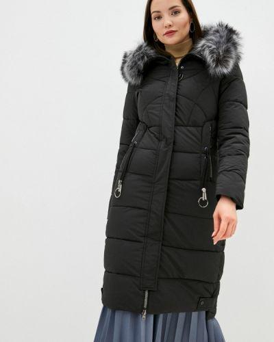 Утепленная черная куртка Winzor