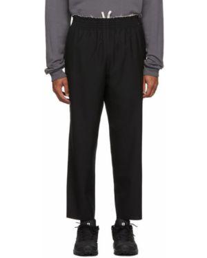 Брючные черные брюки с манжетами с карманами Camiel Fortgens