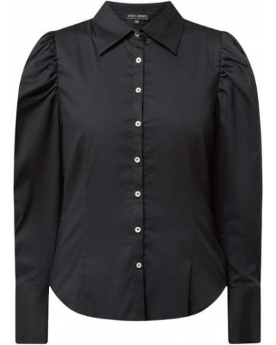 Czarna bluzka bawełniana Risy & Jerfs