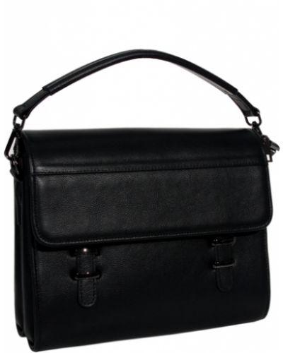 Кожаный портфель на молнии Vesson