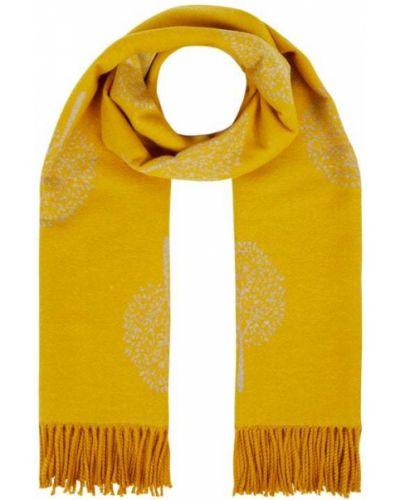 Żółta szal wełniana Kurt Beines