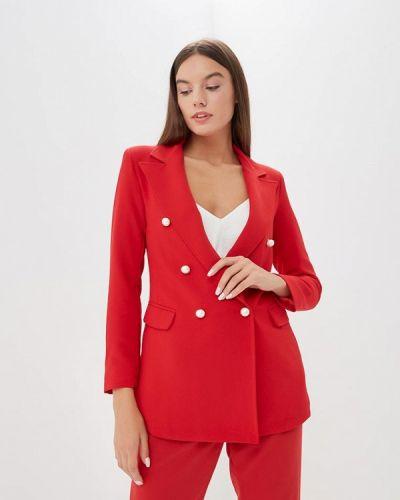 Пиджак итальянский красный Miss Miss By Valentina