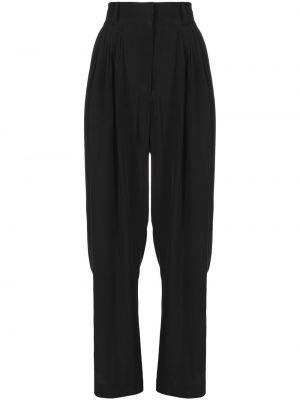 Шелковые брюки - черные Max & Moi