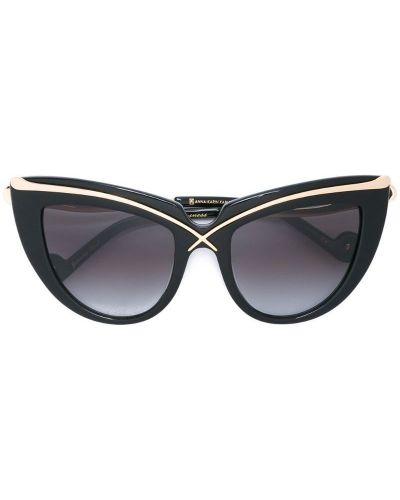 Муслиновые черные солнцезащитные очки Anna Karin Karlsson