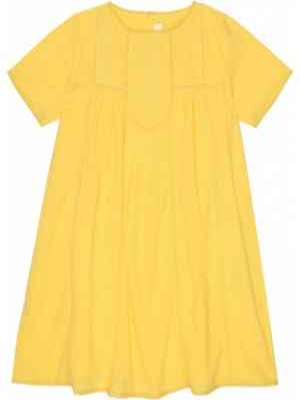 Желтое платье Bonpoint