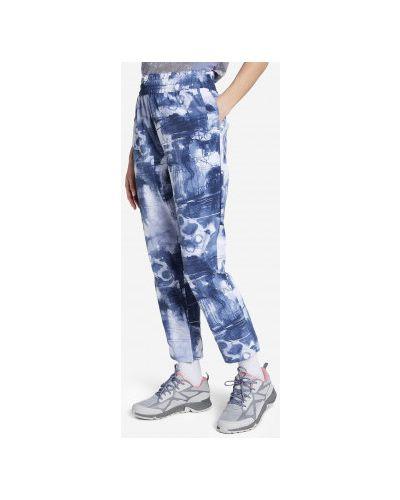 Облегающие синие брюки с поясом Columbia